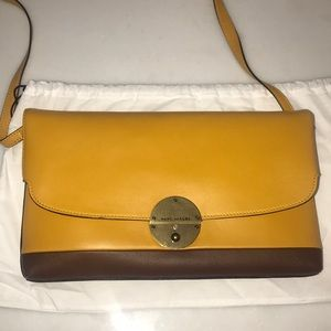 Leather Marc Jacobs envelope clutch